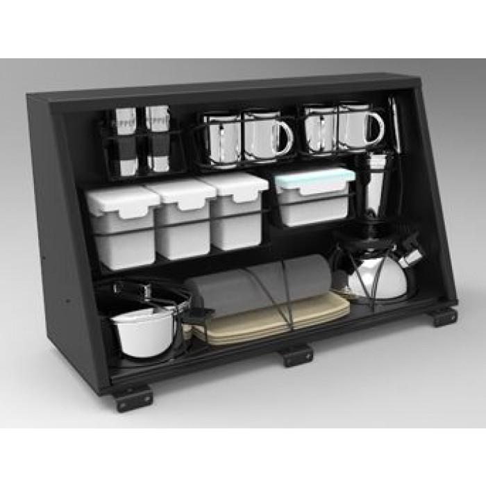 Caisson De Rangement Cuisine: Caisson Alu De Rangement 750mm Alu Cab Avec Kit Cuisine