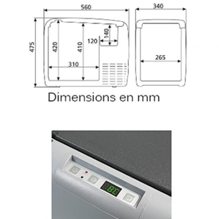 Dimension frigo perfect gallery of meuble haut cuisine conforama pour idees de deco de cuisine - Frigo americain dimension ...