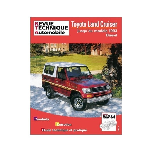 revue technique toyota land cruiser lj70 et lj73 modul 39 auto pi ce occasion casse 4x4. Black Bedroom Furniture Sets. Home Design Ideas