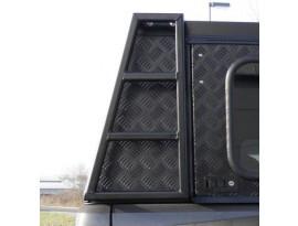 Echelle arrière 49cm Alu Cab pour hard-top