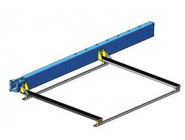Fixation de auvent Alu Cab sur barres de toit Alu Cab