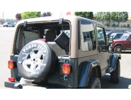Hard Top Jeep Wrangler