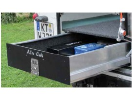 tiroir simple alu cab