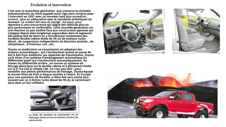 Toyota Hilux la saga