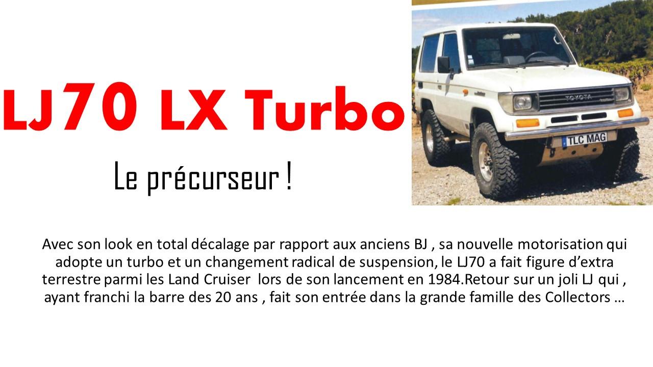 lj70 lx turbo