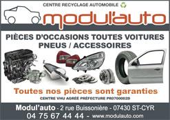 Pièce d'occasions toutes voitures ModulAuto